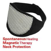 Aptoco Self Heating Neck Wrap Heat Brace Support Strap Pain Ache Relief Collar Strain