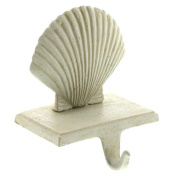 Scallop Stocking Holder - Cast Iron