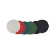 PAD4018WHI - Standard Thickline Floor Pads 18quot; Diameter