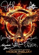 The Hunger Games Movie Print Jennifer Lawrence Woody Harrelson Liam Hemsworth Elizabeth Banks Lenny Kravitz Josh Hutcherson Natalie Dormer