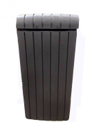 Keter Waste Bin Uses 113.6-147.6l Trash Capacity Bags Indoor Outdoor Home Office Use Weather Resistant