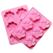 Buytra Cat's paw Silicone DIY Mould Ice Cube Candy Mould Jelly Cake Mould Cupcake Soap Craft Mould