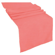 Runner Polyester 33cm x 270cm (CORAL) By Runner Linens Factory