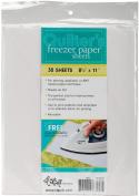 Quilter's Freezer Paper Sheets-22cm x 28cm 30/Pkg