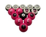 Wave7 Cincinnati Sports Team Logo Officially Licenced Billiard Ball Set - NUMBERED