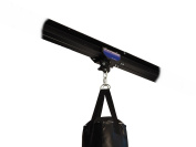 Firstlaw Fitness I-Beam Rolling Mount for Punching Bag & 1.2m Rail Combo - BLUE Rolling Mount - Made in the USA