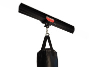 Firstlaw Fitness I-Beam Rolling Mount for Punching Bag & 2.4m Rail Combo - RED Rolling Mount - Made in the USA