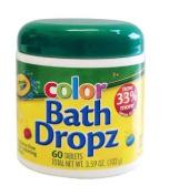 60 Fragrance-Free Bathtub Tints Tablets
