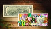 STAR WARS VII * The Force Awakens * Genuine U.S. $2 Bill *Hand-Signed by ARTIST*