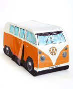 1965 VW Camper Van Kids Pop-up Play Tent Orange