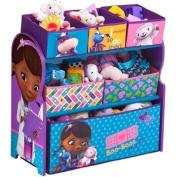 Delta Disney Doc McStuffins Multi-Bin Toy Organiser, Blue