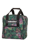 Floral Serger Sewing Case Carrying Tote
