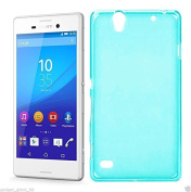 Gadget Giant® Sony Xperia C4 Premium Quality TPU Transparent Gel Case Skin Cover Pouch + Stylus Pen + One touch Stand