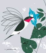 Little Sipper - Charley Harper Lithograph