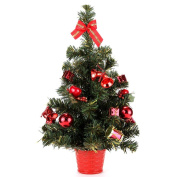 Home-X® 50cm Instant Christmas Tree. Tabletop Decorated Pine Tree.