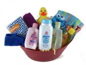 Sunshine Gift Baskets - Baby Bath Time Gift Set