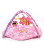 """Big Oshi """"Pink Flower Music Party"""" Play Mat - pink, one size"""
