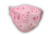 Child's Dust Mask - Little Bear (Available in Black, Pink, White, Grey and Blue)