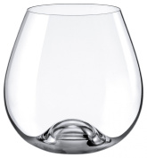 Rona Slovakia - Lead Free Crystal Bordeaux Stemmless Wine Glass, Set of 4