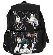 Camplayco Black Butler Cosplay School Bag Backpack