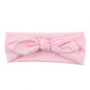 Baby Bow Hairband Koly® Girls Photography Rabbit Bow Ear Headband Turban Knot Head Wraps