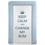 It's A Baby Keep Calm and Change My Bum Changing Mat