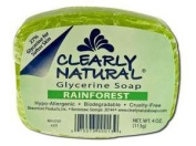 Clearly Natural, Glycerine Soap, Rainforest, 120ml (113 g), 1 Bar by Clearly Natural