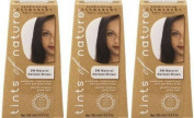 Natural Darkest Brown (120ml) - x 3 Pack Savers Deal by TINTS OF NATURE PERMANENT HAIR