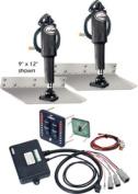 Lenco Trim Tab Kit-Std 9X12 W-Led Sw