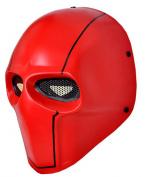OSdream Red Wire Mesh Full Face Protection Paintball Skull Mask Cosplay Halloween