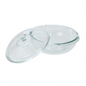 Pyrex Glass Casserole Dish With Lid 2 Litre