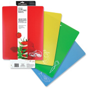 Mulini Flexible Chopping Mats - Set of 4