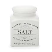 Maxwell & Williams Salt Canister 0.5 Litre