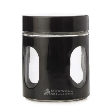 Maxwell & Williams Cosmopolitan Canister 325ML Black