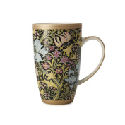 Maxwell & Williams William Morris Golden Lily Black Coupe Mug 420ML