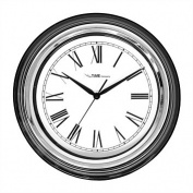 The Time Company Victoria Black Wall Clock 35.4cm