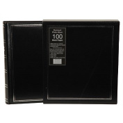 UR1 Drymount Album Black with Silver Stamping 100 Page