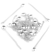 Skyllc® 20X Silver Plated Necklace Chain Extender 4.7cm - 5.1cm CHIC