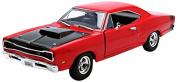 MotorMax 1/24 Scale Metal Model 73315 - 1969 Dodge Coronet Super Bee - Red