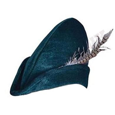 Childrens Kids Boys Girls Soft Felt Robin Hood Hat Mediaeval Book Week Fancy Dress