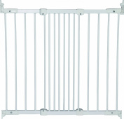 Baby Dan Flexi Fit 55114-5400-10-85 Metal Child Safety Gate 67 - 105.5 cm White