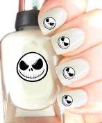 Easy to use, High Quality Nail Art Decal Stickers For Every Occasion! Ideal Christmas Present, Stocking Filler Jack Skellington