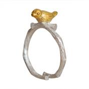 Sanwood Women Ring Elephant Adjustable Alloy Jewellery