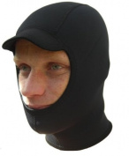 NCW Cornwall 3mm Titanium Neoprene Surf Hood / Balaclava / Cap Gbs Seams And Watersport Fleece Lining