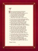 Rudyard Kipling Art Print, If