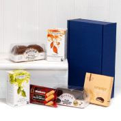 Brew in a Box - Hamper with English Breakfast & Green Tea, Biscuits, Shortbread & Beeches Creams, - Gift ideas for - Christmas,Valentines,Presents,Birthday,Men,Him,Dad,Her,Mum,Thank you,Wedding Anniversary,Engagement,18th,21st,30th,40th,50th,60th,70th, ..