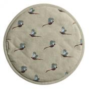 Sophie Allport Hob Cover Round - Pheasant