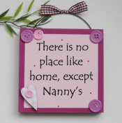 Nanny Gift Wooden Plaque