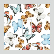 Sticar-it Ltd Pretty Butterfly Pattern Motif Light Switch Sticker vinyl cover skin decal For Any Room