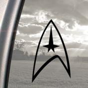Star Trek Black Decal Truck Bumper Window Vinyl Sticker